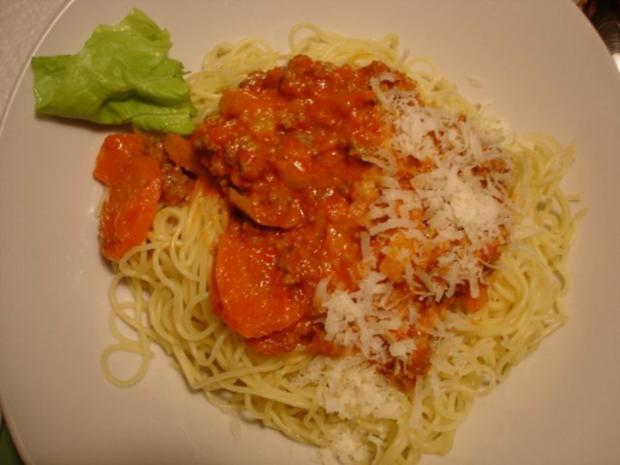 Spaghetti mit Hack-Gemüse-Sauce - Rezept - Bild Nr. 18