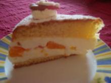 Mandarinen-Käse-Sahnetorte - Rezept