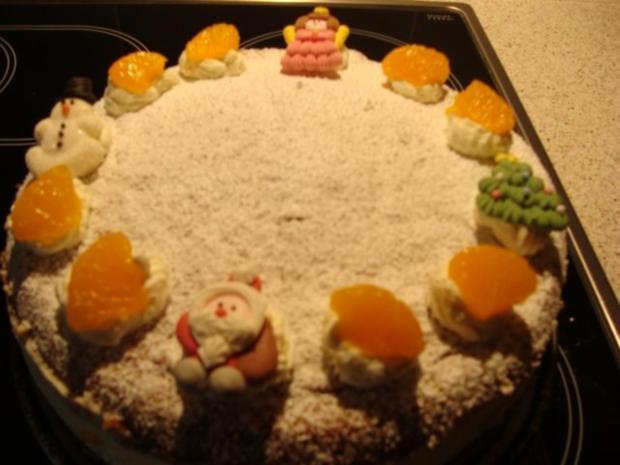 Mandarinen-Käse-Sahnetorte - Rezept - Bild Nr. 12