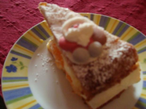 Mandarinen-Käse-Sahnetorte - Rezept - Bild Nr. 14