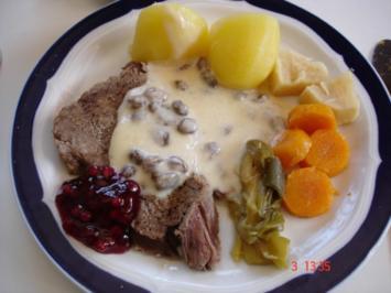 Rindfleisch mit Meerrettichsauce - Rezept