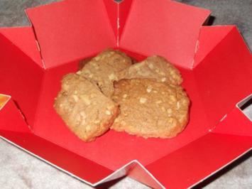 Mandel - Zimt - Kekse - Rezept