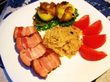 Rauchfleisch mit Sauerkraut - Rezept