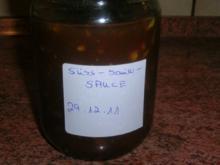 Fonduesauce - süß-sauer zum Chrysanthemen-Feuertopf - Rezept