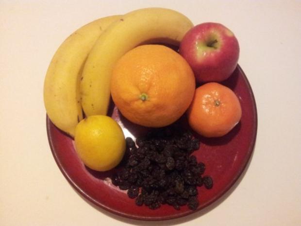 obst salat im winter mit banane rezept. Black Bedroom Furniture Sets. Home Design Ideas
