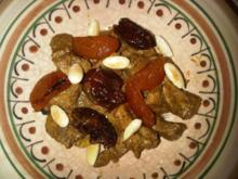 Marokkanische Tajine - Rezept
