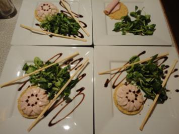 Grissini Törtchen - Rezept