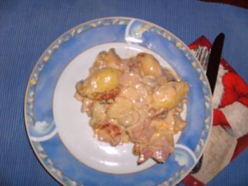 Kartoffelauflauf nach Hausfrauenart - Rezept