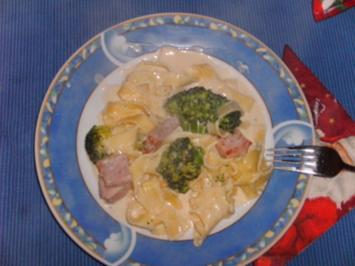 Kasseler-Brokkoli-Pfanne - Rezept