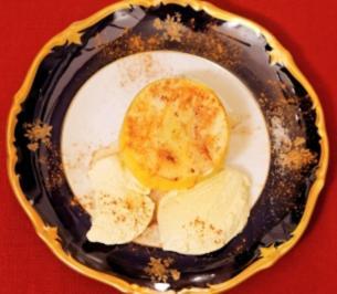 Heißer Apfel mit Zimt und Zucker, dazu Vanilleeis (Joy Fleming) - Rezept - Bild Nr. 9