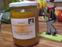 Kürbis-Orangen-Konfitüre - Rezept