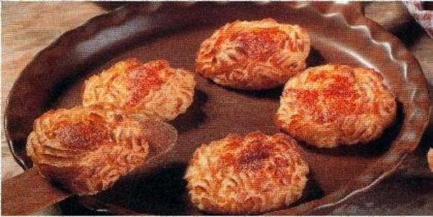 Kartoffelnestchen - Rezept