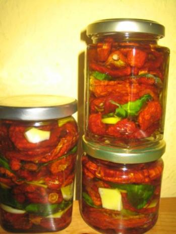 Vorratshaltung - Eingelegte Tomaten - Rezept