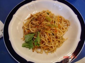 Asiatisches Nudelgericht - Rezept