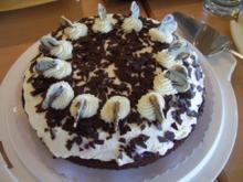 Einfache Schwarzwälder Kirsch-Torte - Rezept
