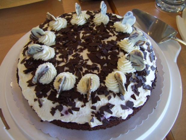 Einfache Schwarzwalder Kirsch Torte Rezept Kochbar De