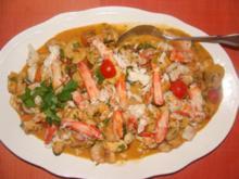 Meeresfrüchte : Allerfeinster Sylvester Salat mit 5 Köstlichkeiten aus den Weltmeeren ! - Rezept