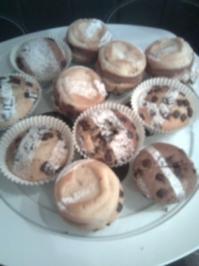Zebra-Muffins - Rezept