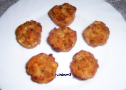 Zwischensnack: Hackfleisch-Feta-Muffins - Rezept