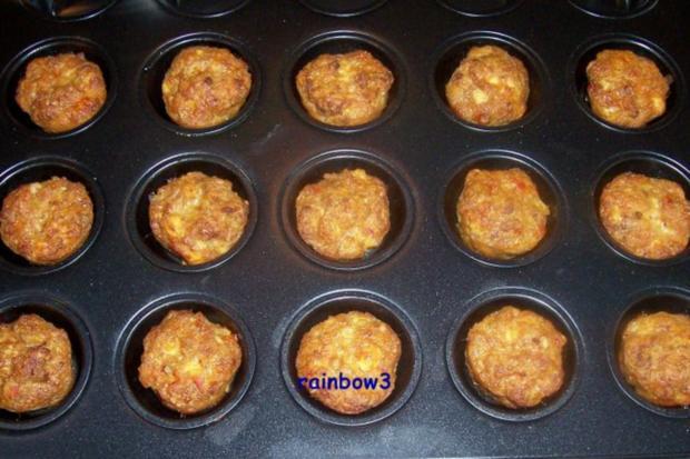 Zwischensnack: Hackfleisch-Feta-Muffins - Rezept - Bild Nr. 3