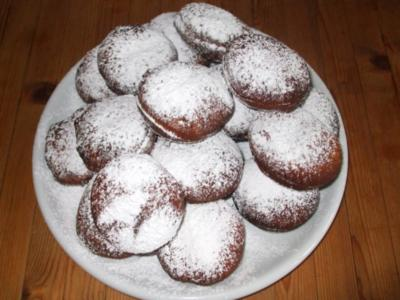 Berliner, Pfannkuchen, Krapfen... mit Zwetschgenmusfüllung - Rezept