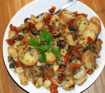 Bratkartoffelsalat - Version 2.0 - Rezept