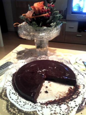 Tart au chocolate - Rezept