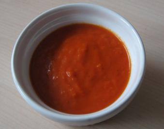 Tomaten-Paprika-Dip - Rezept