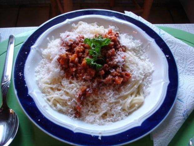 Bolognese mit Capellini-Nudeln - Rezept - Bild Nr. 17