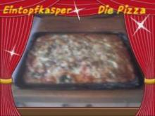 Darf es heute mal Pizza anders sein oder Grünkohlpizza a`la Jörg die Dritte - Rezept