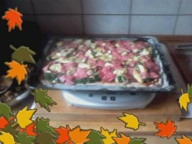 Darf es heute mal Pizza anders sein oder Grünkohlpizza a`la Jörg die Dritte - Rezept - Bild Nr. 4