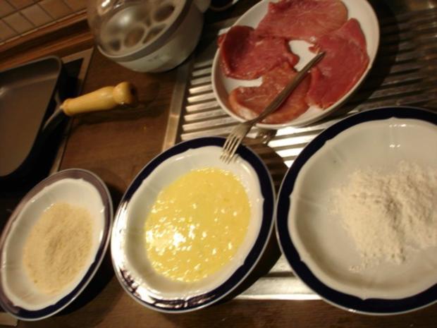 Schnitzel mit Spargel und Kartoffeln - Rezept - Bild Nr. 6