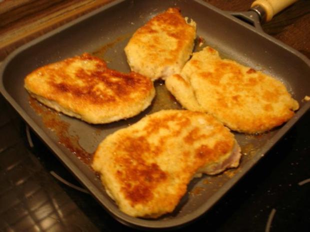 Schnitzel mit Spargel und Kartoffeln - Rezept - Bild Nr. 10