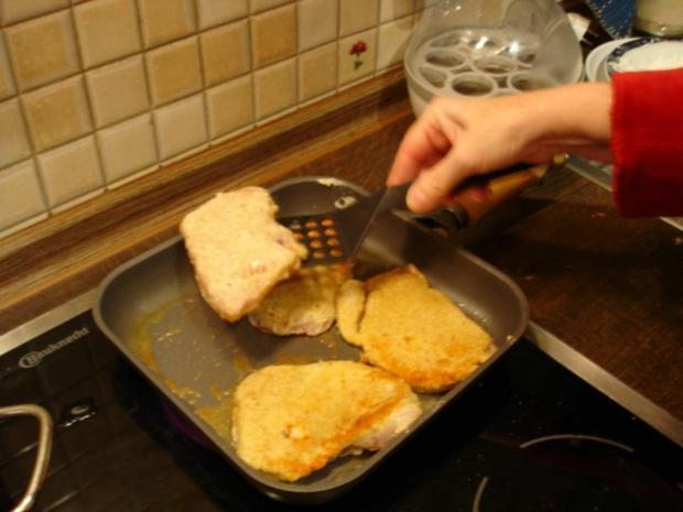 Schnitzel mit Spargel und Kartoffeln - Rezept - Bild Nr. 9