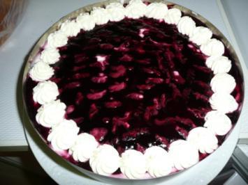 Rezept: Holunder-Torte