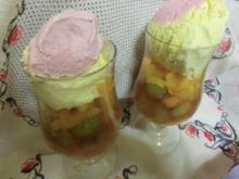 Obst -Dessert -- Süße Sünde - Rezept