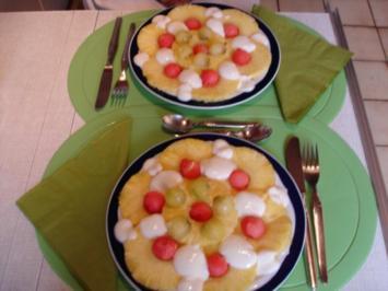 Ananas-Carpaccio - Rezept