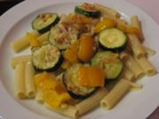 Zucchini-Paprika-Gratin - Rezept