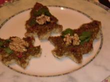Nuss-Sesam-Häppchen - Rezept