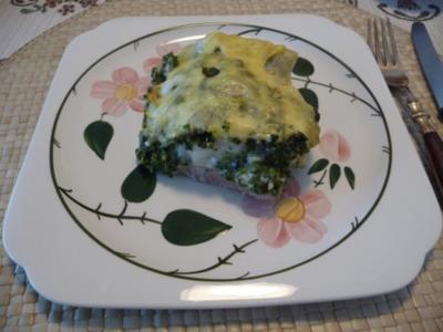 Kalbsfleisch : Kalbsschnitzel - Maultaschen - Spinat - Auflauf - Rezept