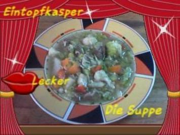 Rinder - Gemüsesuppe a`la Jörg - Rezept