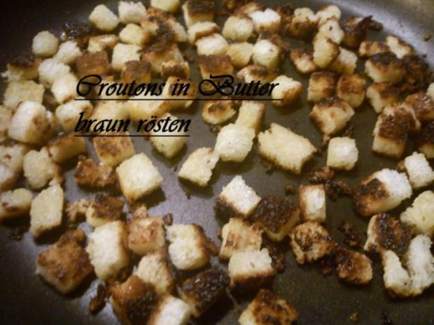 Bunter Salat mit Hähnchenstreifen und Croutons - Rezept - Bild Nr. 3