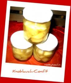 Vorratshaltung - Knoblauch-Confit - Rezept