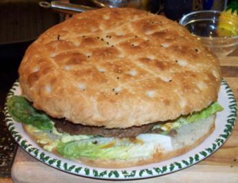 Burger als Torte - Rezept