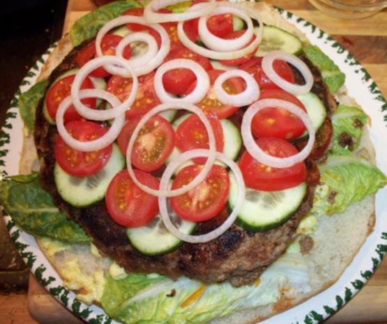 Burger als Torte - Rezept - Bild Nr. 4