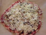 Gyros-Pizza Vegi - Rezept