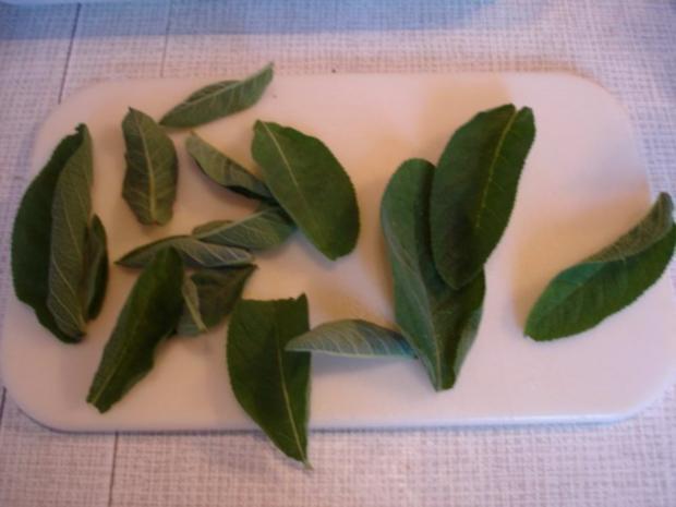 Spargel mit Schinken, Salbei und Parmesan - Rezept - Bild Nr. 9
