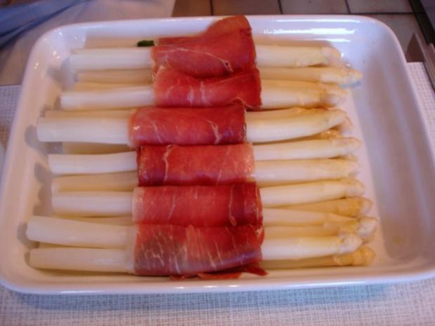 Spargel mit Schinken, Salbei und Parmesan - Rezept - Bild Nr. 13