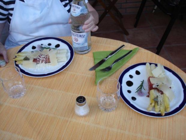 Spargel mit Schinken, Salbei und Parmesan - Rezept - Bild Nr. 20