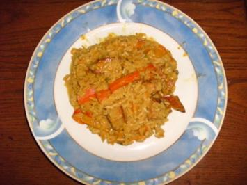 Puten-Reis-Pfanne - Rezept